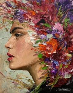 Dafne, Oil Painting