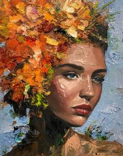 Silvia, Oil Painting