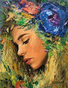 Amaia, Oil Painting
