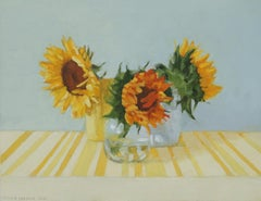 Sunflowers in Sunlight, Oil Painting