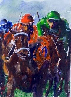 Derby II, Original Painting