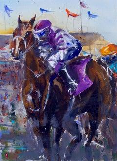 Derby 1, Original Painting