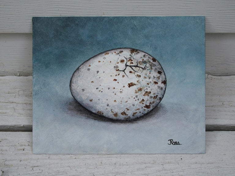 <p>Artist Comments<br>The ninth piece in my The Bird Waits In Eggs series. The title is from a poem by James Allen The greatest achievement was at first and for a time a dream. The oak sleeps in the acorn, the bird waits in the egg, and in the