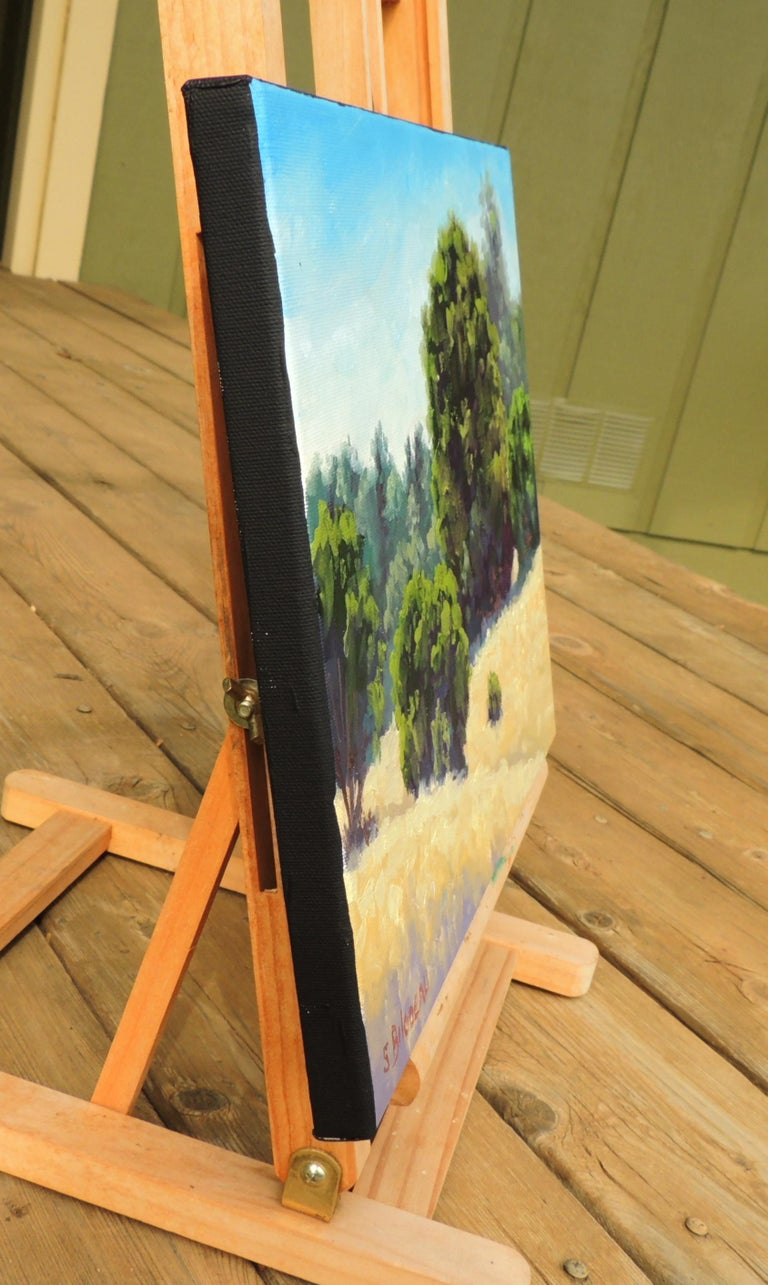 A Quiet Place - Abstract Impressionist Art by Steven Guy Bilodeau