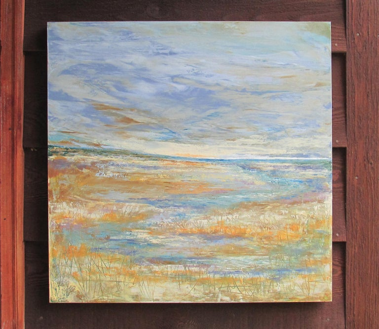 Lead the Way - Abstract Painting by Valerie Berkely
