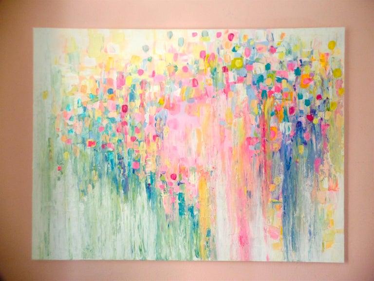 Rain or Shine  - Abstract Painting by Natasha Tayles