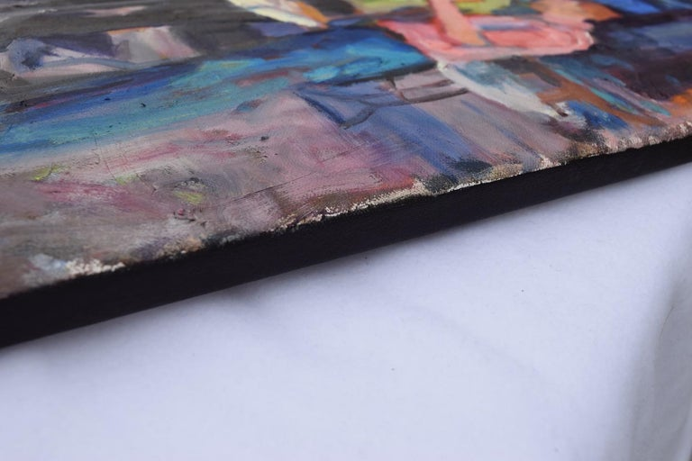 A Good Find - Abstract Impressionist Art by Mickey Cunningham