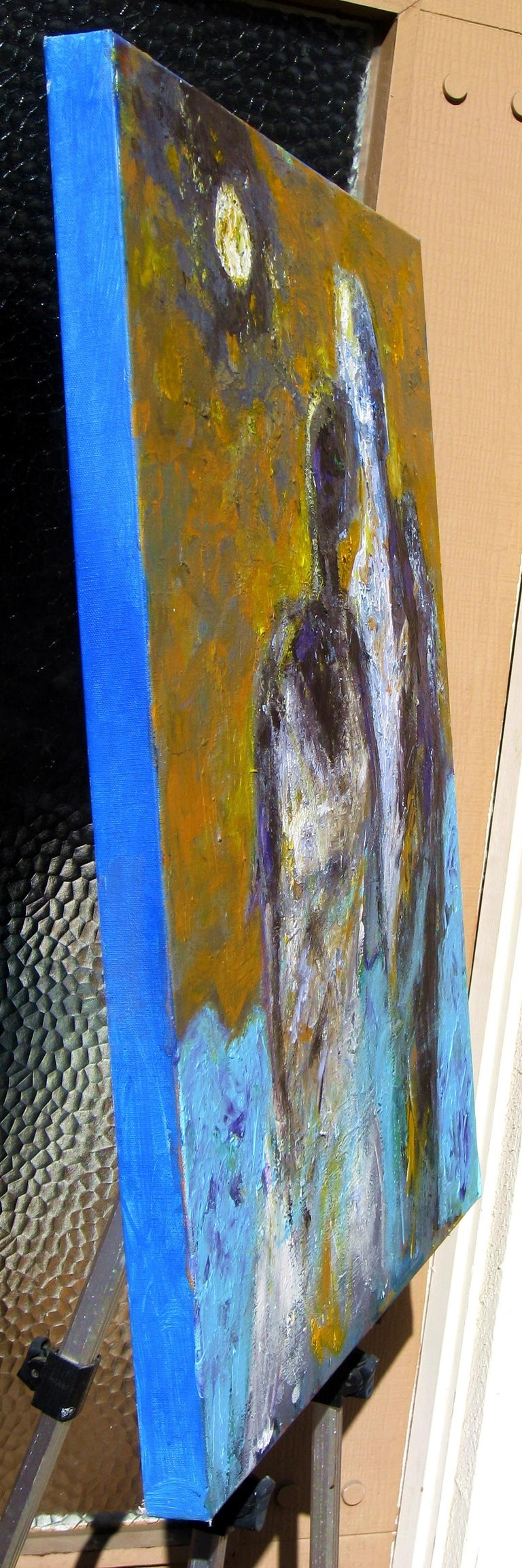 A Moment Captured - Abstract Expressionist Art by Ron Klotchman