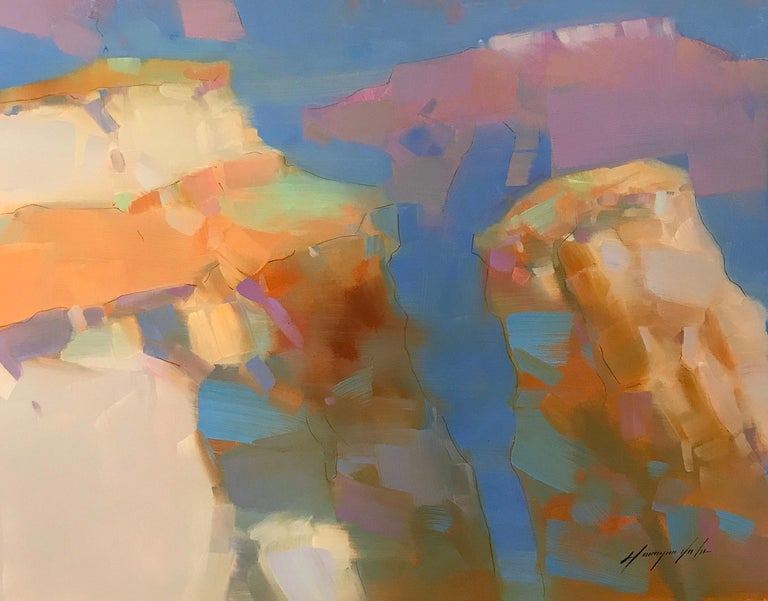 Grand Canyon - Abstract Impressionist Art by Vahe Yeremyan
