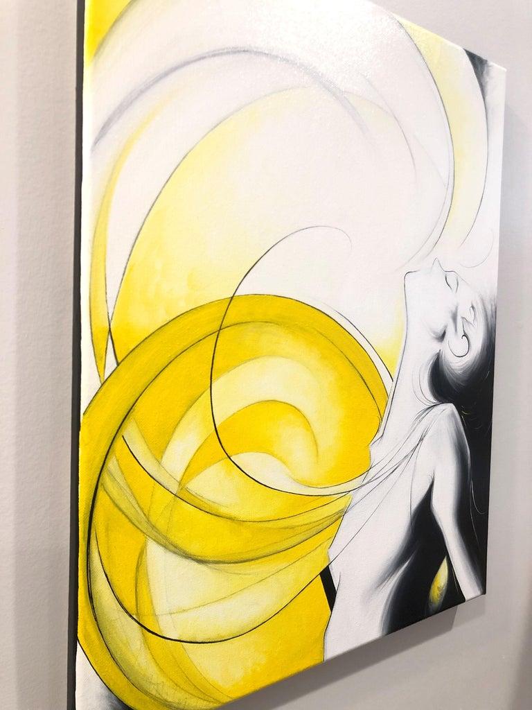 Sun Goddess - Painting by Sumner Crenshaw