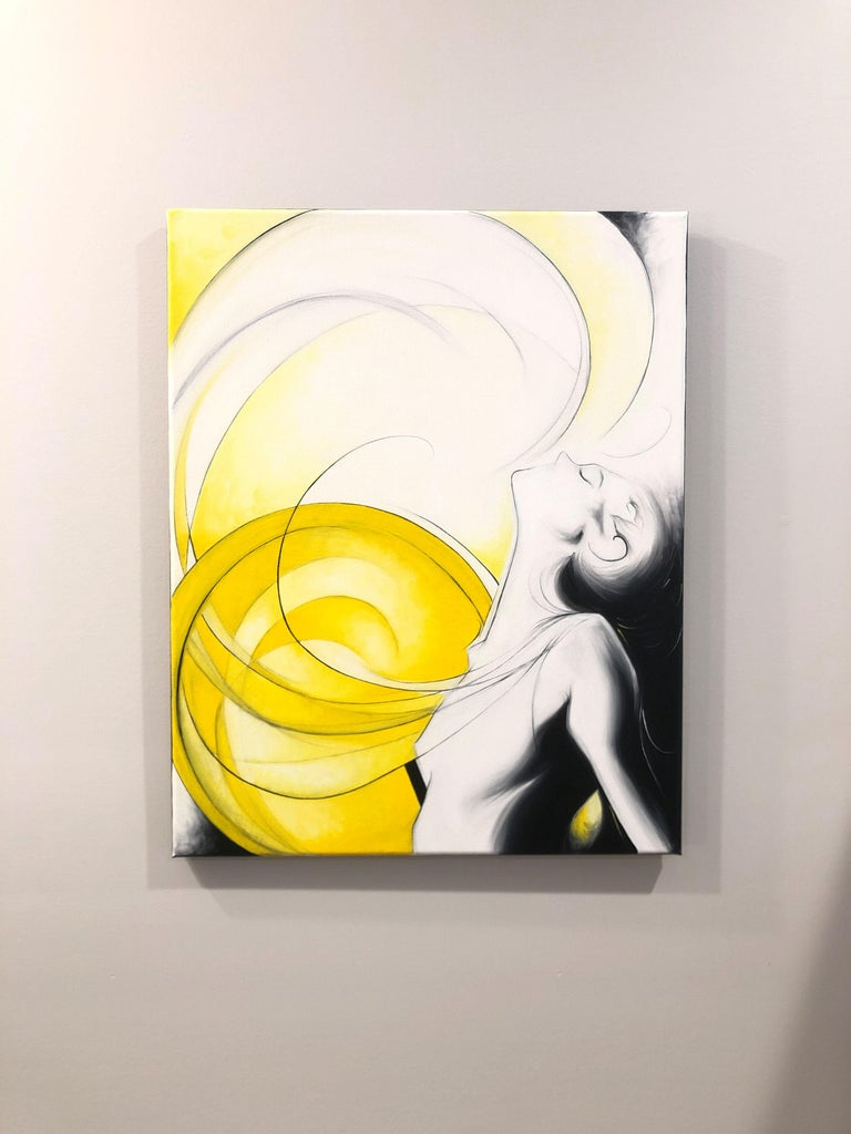 Sun Goddess - Contemporary Painting by Sumner Crenshaw