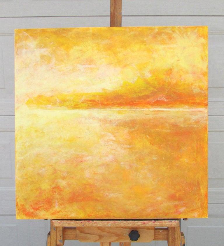 Yellow - Painting by Valerie Berkely