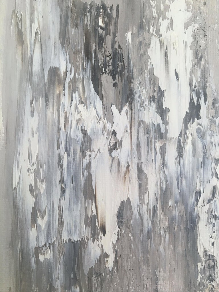Memory Stones 5, Abstract Oil Painting For Sale 1
