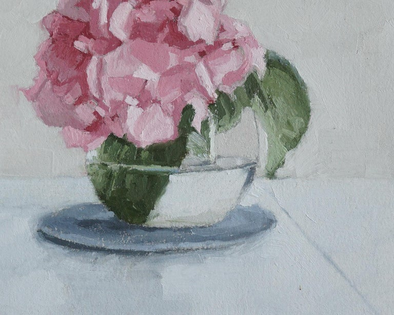 Hydrangea in Bloom, Oil Painting For Sale 1