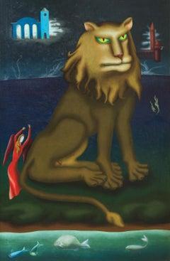 Sulky Lion