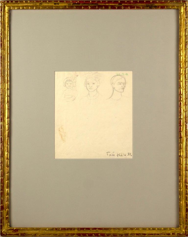 Triple Self-Portrait as a Toddler, Adolescent, Woman For Sale 1