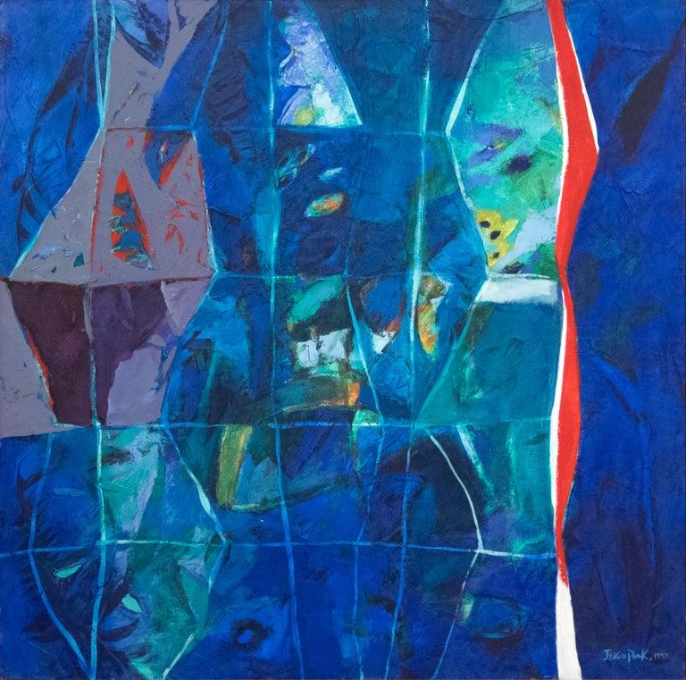 Jae Kon Park Abstract Painting - Untitled