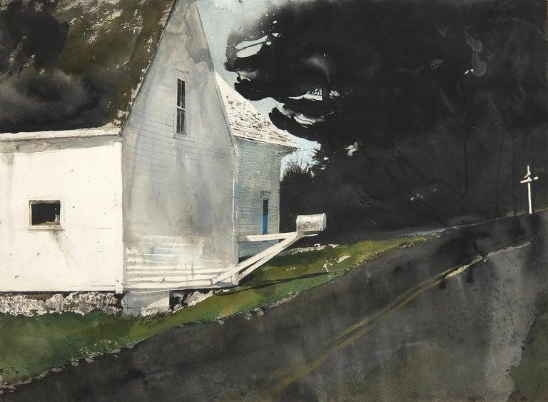 Andrew Wyeth Landscape Art - Star Route
