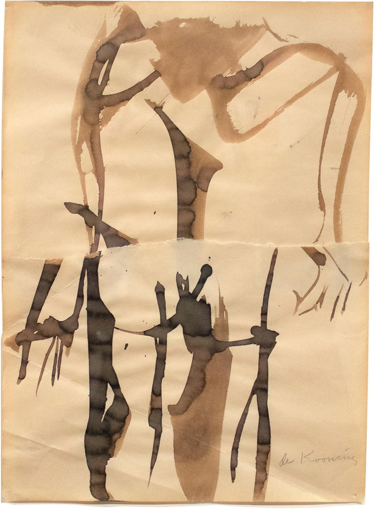 Willem de Kooning Abstract Drawing - Woman
