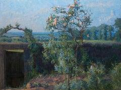 Vue du Jardin de l'Artiste et de la Vallée de Yerres