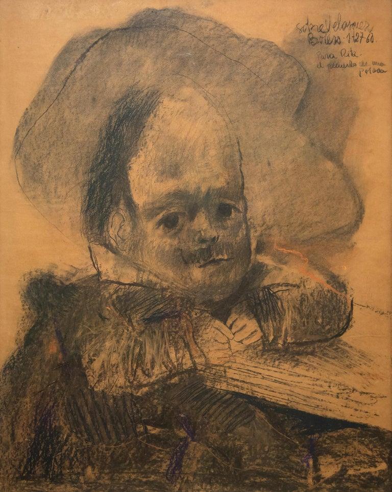 Fernando Botero Portrait - Dibujo a la Manera de Velasquez