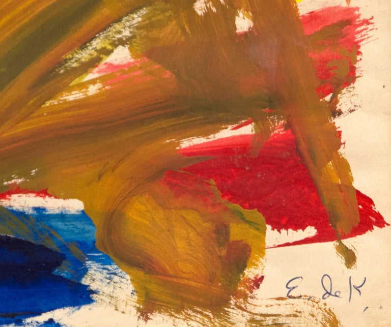 Untitled - Abstract Expressionist Art by Elaine de Kooning