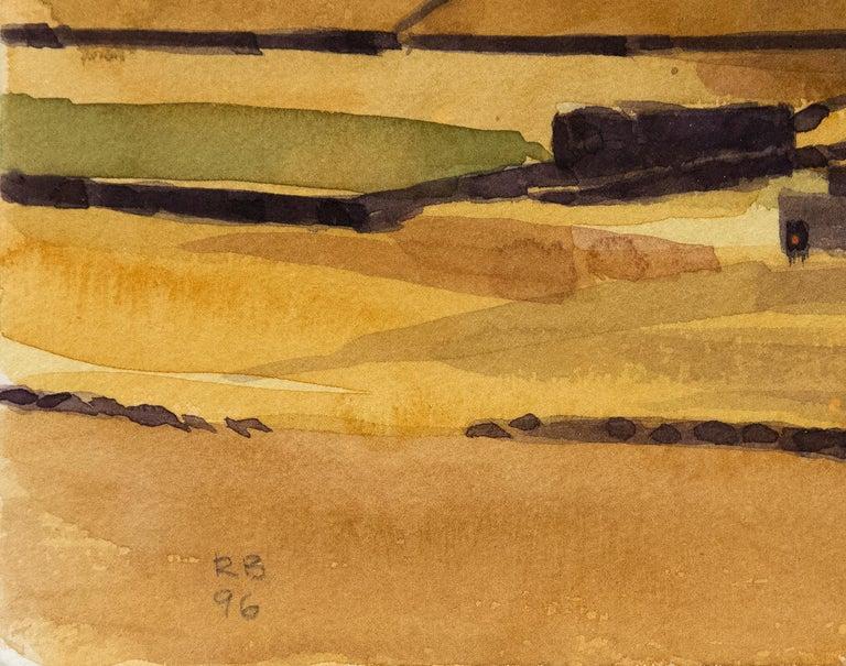 Paros (6/7/96) - Contemporary Art by Robert Bechtle