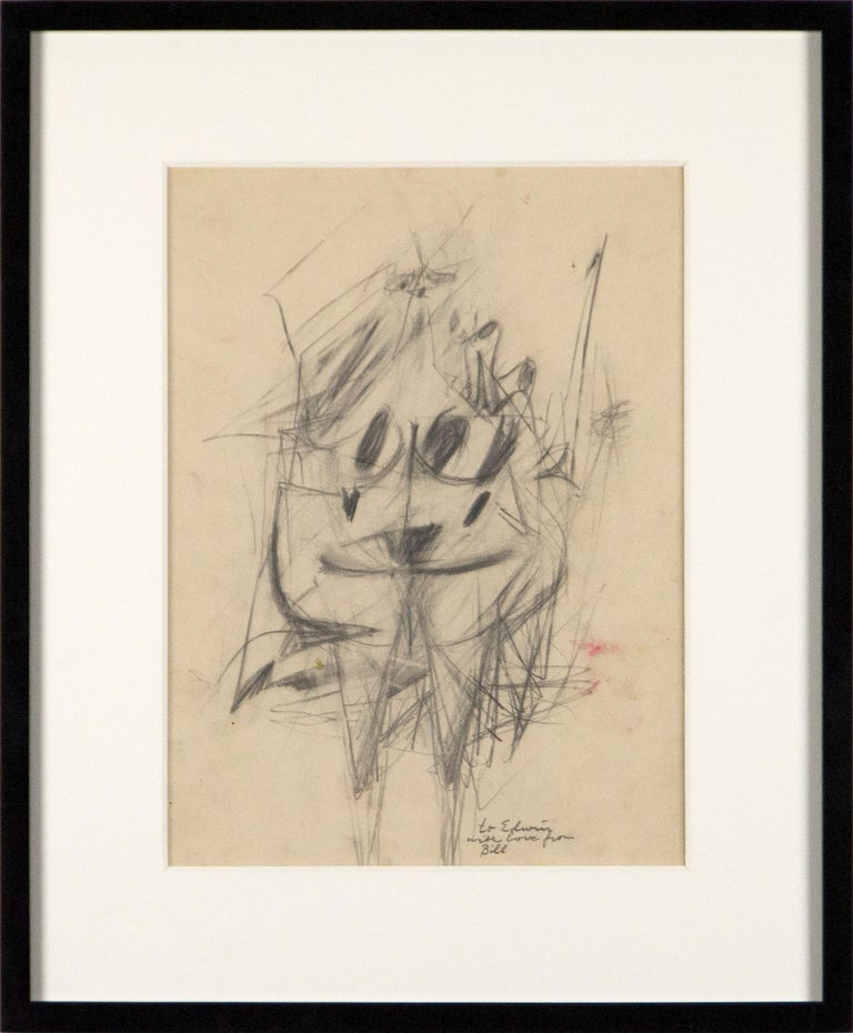 Untitled (double-sided drawing) - Abstract Expressionist Art by Willem de Kooning