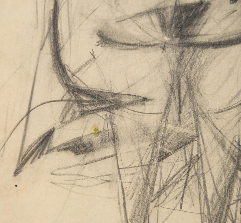 A drawing by Willem de Kooning.