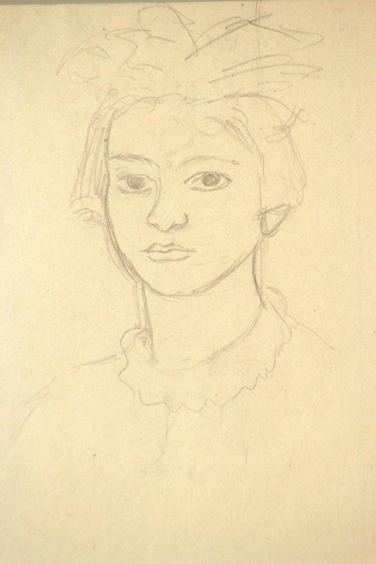 Triple Self-Portrait as a Toddler, Adolescent, Woman For Sale 3