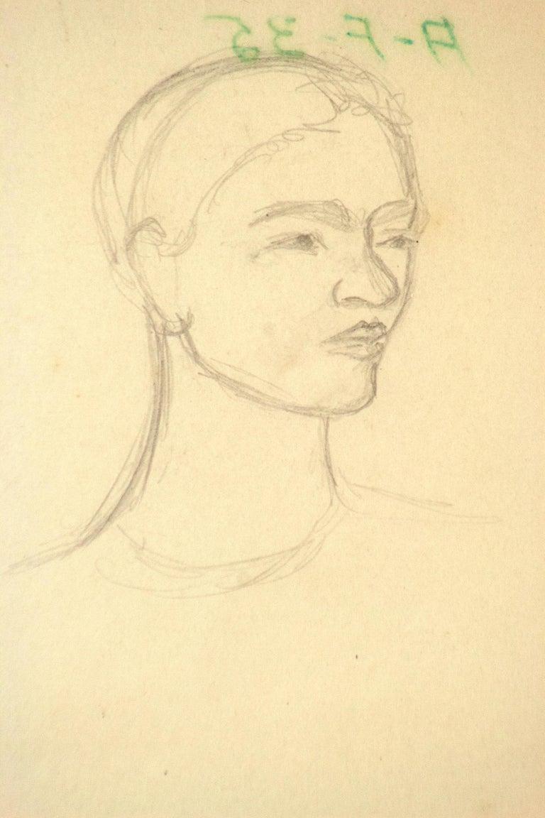 Triple Self-Portrait as a Toddler, Adolescent, Woman For Sale 4