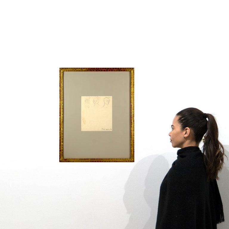 Triple Self-Portrait as a Toddler, Adolescent, Woman For Sale 5
