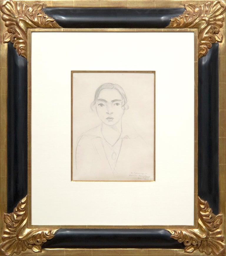 Madame Monchaux - Art by Henri Matisse