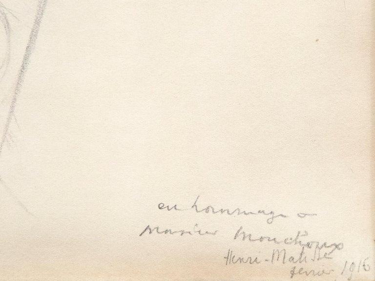 Madame Monchaux - Modern Art by Henri Matisse