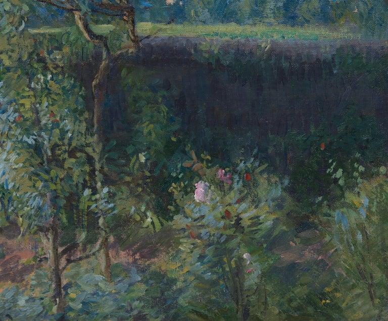 Vue du Jardin de l'Artiste et de la Vallée de Yerres For Sale 4