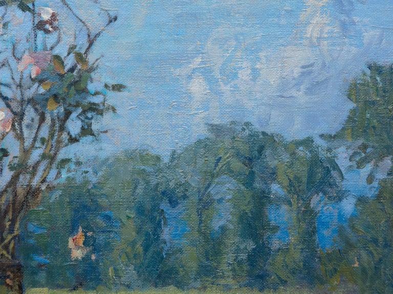 Vue du Jardin de l'Artiste et de la Vallée de Yerres For Sale 6