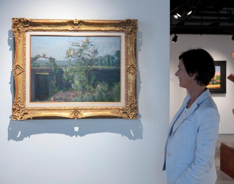 Vue du Jardin de l'Artiste et de la Vallée de Yerres For Sale 9