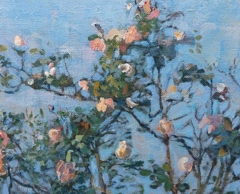 Vue du Jardin de l'Artiste et de la Vallée de Yerres For Sale 1