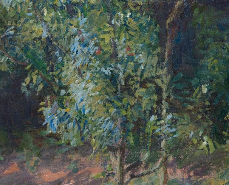 Vue du Jardin de l'Artiste et de la Vallée de Yerres For Sale 3