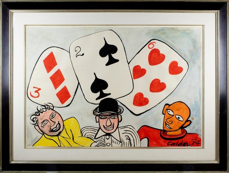 Card Players - Art by Alexander Calder