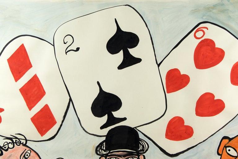 Card Players - Post-War Art by Alexander Calder