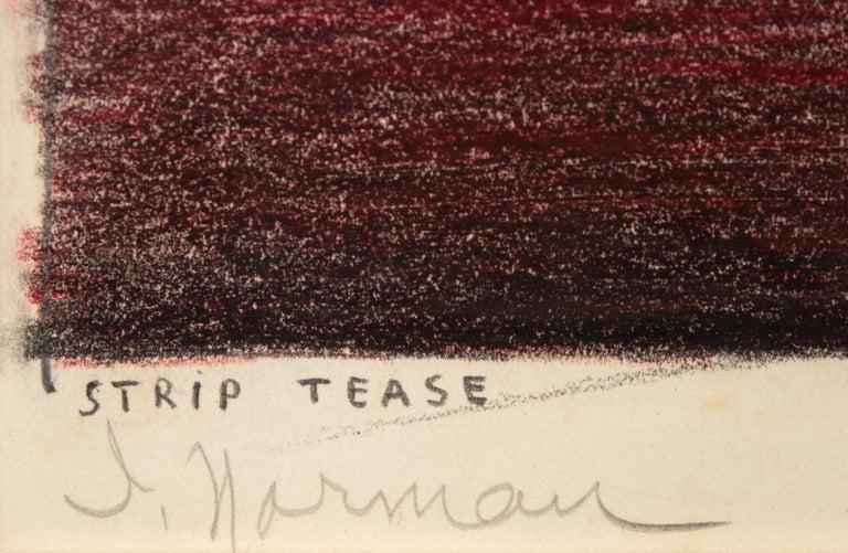 Striptease - American Modern Art by Irving Norman