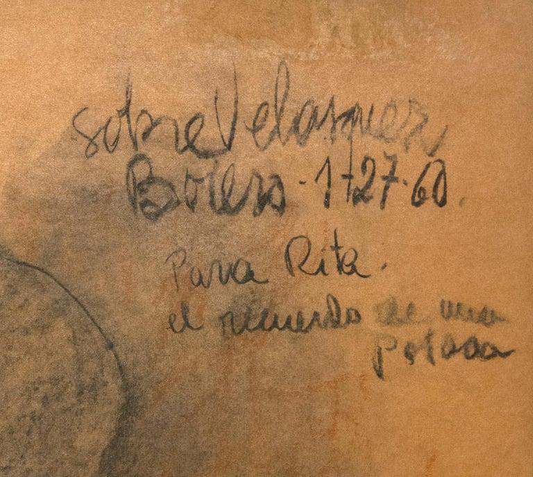 Dibujo a la Manera de Velasquez - Post-War Art by Fernando Botero