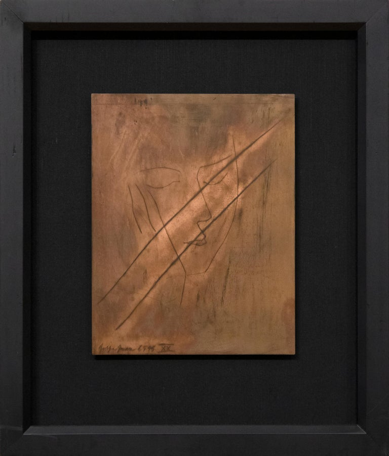 Original Copper Plate and Engraving from Carmen - Modern Art by Pablo Picasso