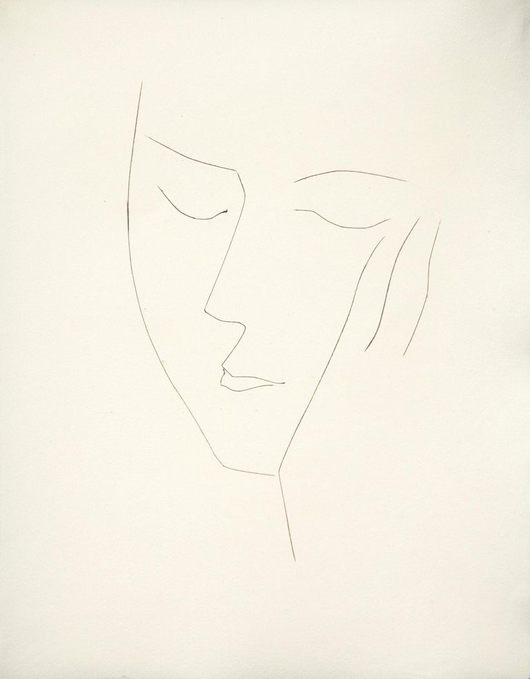 A copper plate by Pablo Picasso.