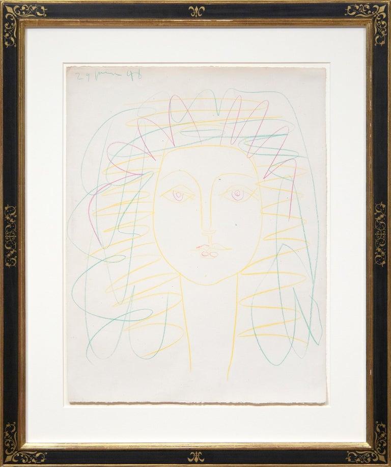 Portrait de Femme (Françoise) - Art by Pablo Picasso