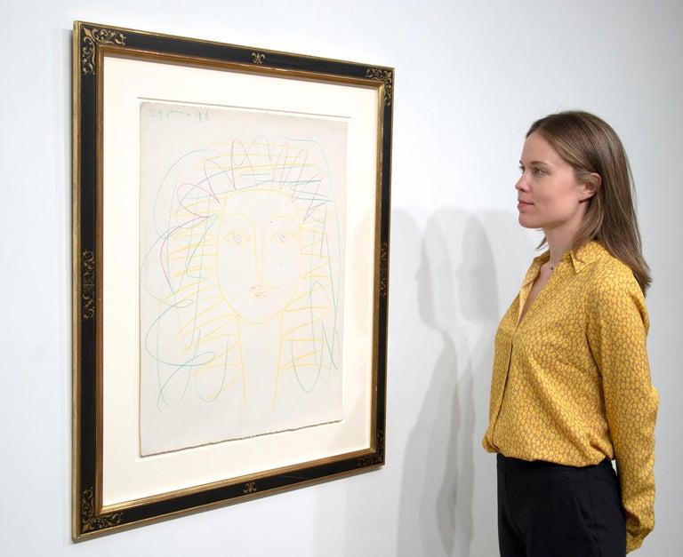 Portrait de Femme (Françoise) For Sale 4