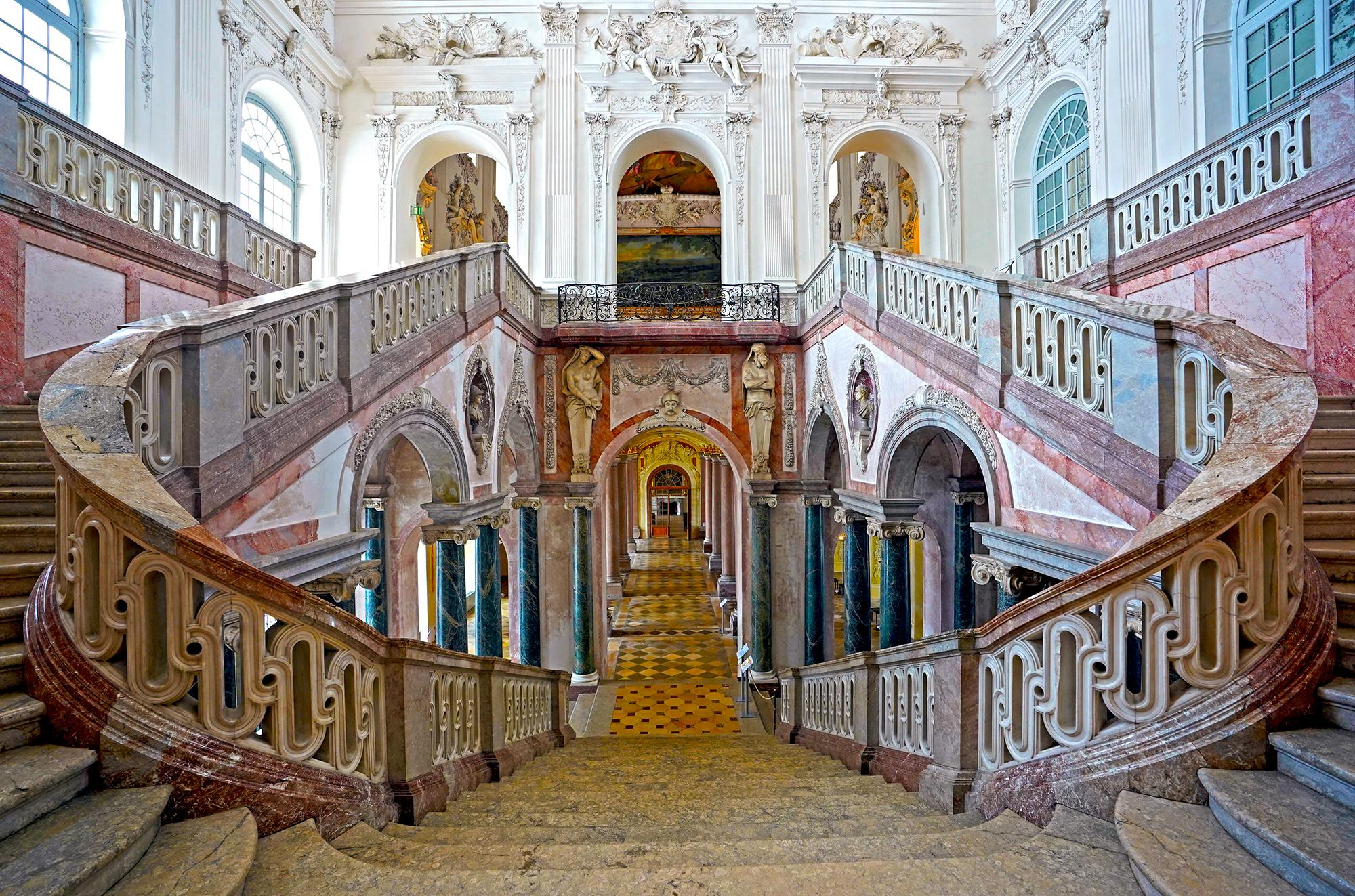 The Grand Stairs by Moritz Hormel contemporary HD Fuji Crystal diasec fotography