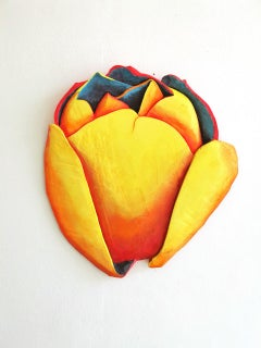 Bloom 4 by Isabel Ritter - Contemporary Wall Flower sculpture