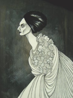 Asbestos by Daniele Davitti - Ilustration Painting on Wood